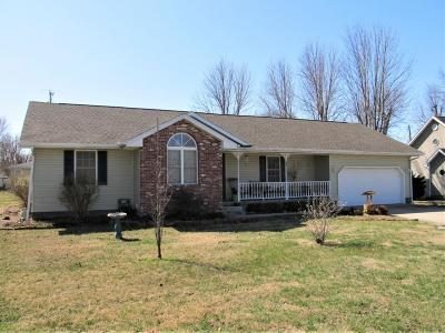 Lamar MO Single Family Home For Sale: $110,000