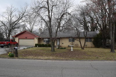 Joplin MO Single Family Home For Sale: $115,000