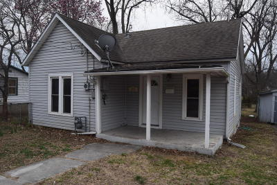 Carthage MO Single Family Home For Sale: $49,400
