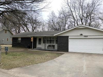 Jasper County Single Family Home For Sale: 722 E Wickersham Drive