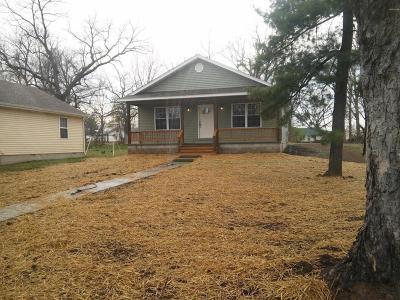 Jasper County Single Family Home For Sale: 1621 Forest Street