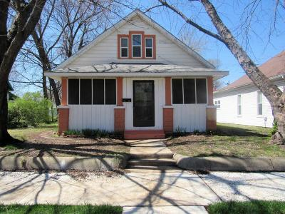 Jasper County Single Family Home For Sale: 1810 Pearl