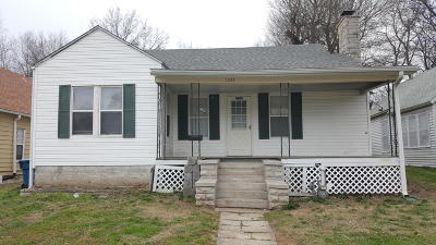 Jasper County Single Family Home For Sale: 1033 Fulton Street