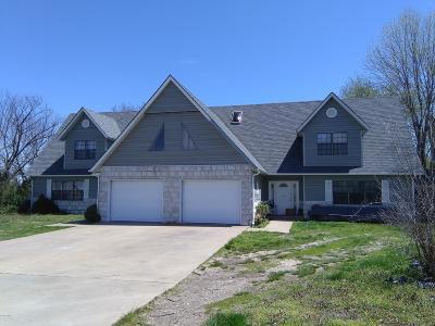 Jasper County Multi Family Home For Sale: 1929 S Black Cat Road