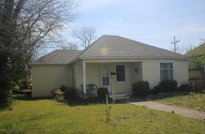 Joplin MO Single Family Home For Sale: $44,500