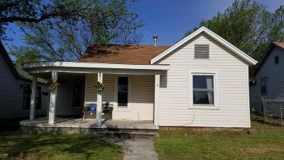 Jasper County Single Family Home For Sale: 510 Joplin