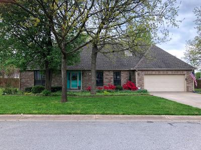 Carl Junction MO Single Family Home For Sale: $210,000