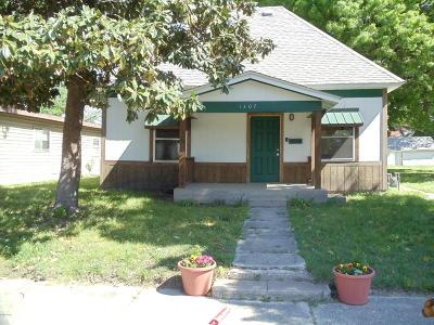 Jasper County Single Family Home For Sale: 1407 W 9th Street