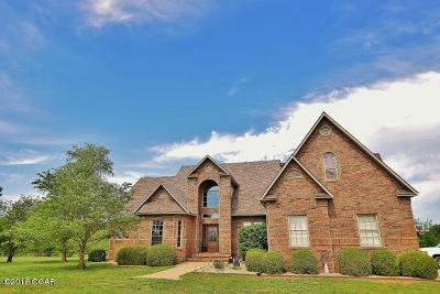 Neosho Single Family Home For Sale: 18991 Jaguar Road