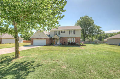 Barry County, Barton County, Dade County, Greene County, Jasper County, Lawrence County, McDonald County, Newton County, Stone County Single Family Home For Sale: 2197 S Eastwood Road