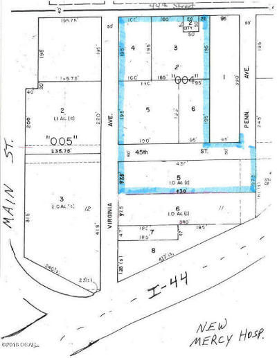 Residential Lots & Land For Sale: 4401-4501 S Virginia Avenue