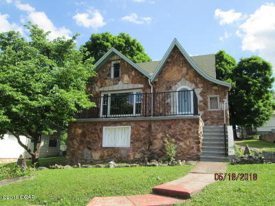 Neosho MO Single Family Home For Sale: $140,000