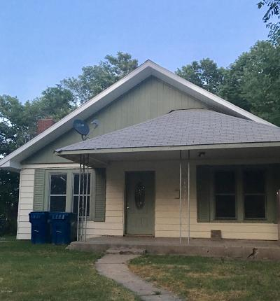 Jasper County Single Family Home For Sale: 723 Indiana Ave