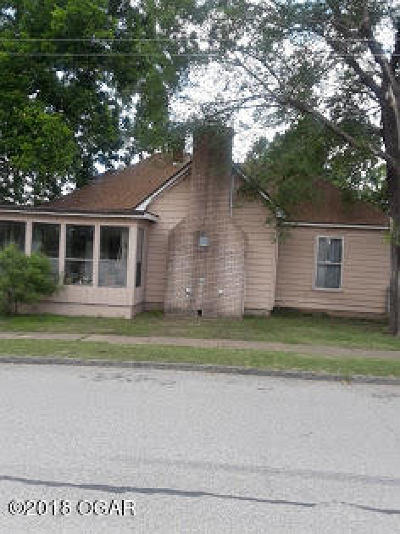 Jasper County Single Family Home For Sale: 1201 West Mineral