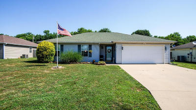 Jasper County Single Family Home For Sale: 1209 Meadow Ridge