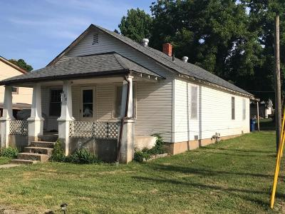 Sarcoxie MO Single Family Home For Sale: $89,000