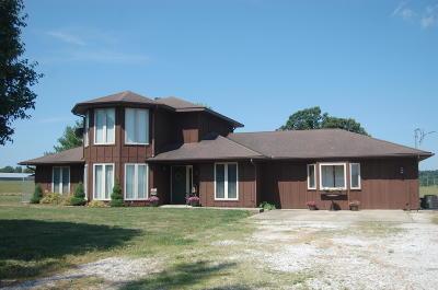 Stark City MO Single Family Home For Sale: $215,000