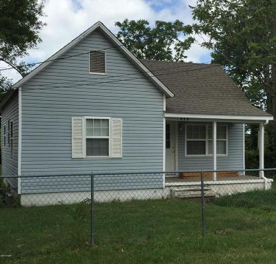 Webb City MO Single Family Home For Sale: $35,900