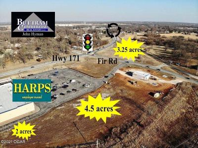 Jasper County Residential Lots & Land For Sale: Lot 1 Hwy 171 & Fir Road