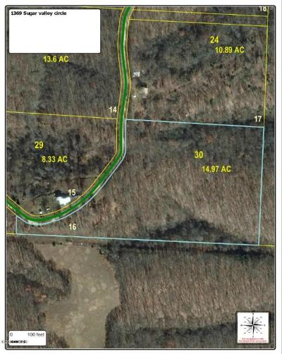 Barry County, Barton County, Dade County, Greene County, Jasper County, Lawrence County, McDonald County, Newton County, Stone County Residential Lots & Land For Sale: 1369 Sugar Valley Circle