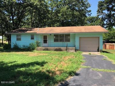 McDonald County Single Family Home For Sale: 55 Hart Road