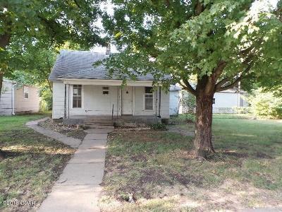 Webb City MO Single Family Home For Sale: $43,800