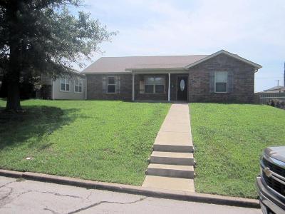 Joplin MO Single Family Home For Sale: $136,000