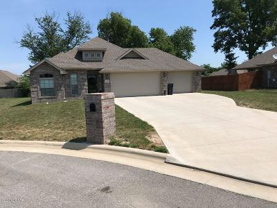 Jasper County Single Family Home For Sale: 1655 Donna Ruth Place