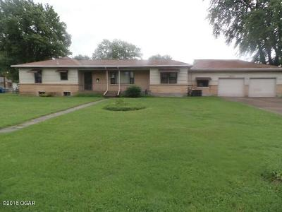 Jasper County Single Family Home For Sale: 1603 Roosevelt Avenue