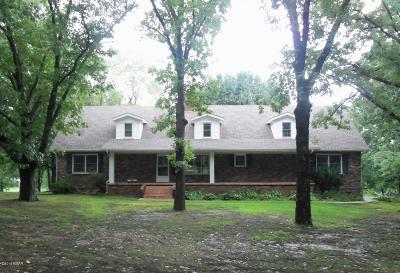 Jasper County Single Family Home For Sale: 2157 Whitten Road