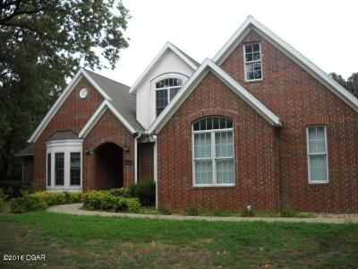 Jasper County Single Family Home For Sale: 3913 Arbor Road