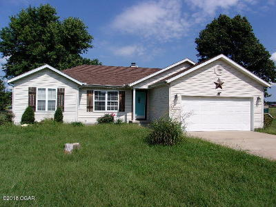Neosho MO Single Family Home Sold: $92,000