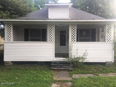 Webb City MO Single Family Home For Sale: $34,000