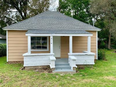 Newton County Single Family Home For Sale: 510 Park Street