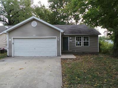Jasper County Single Family Home For Sale: 1111 Empire Avenue
