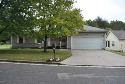 Joplin MO Single Family Home For Sale: $115,000