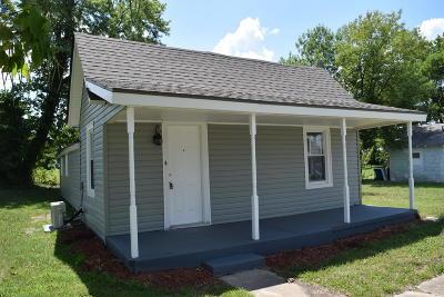 Joplin MO Single Family Home For Sale: $53,900