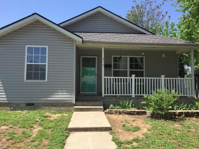 Webb City MO Single Family Home For Sale: $95,900