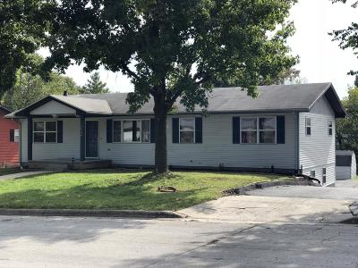 Springfield MO Single Family Home For Sale: $158,000
