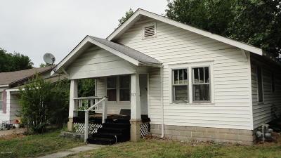 Joplin MO Single Family Home For Sale: $33,500