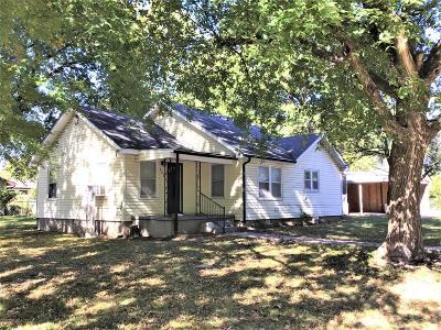 Webb City MO Single Family Home For Sale: $63,900