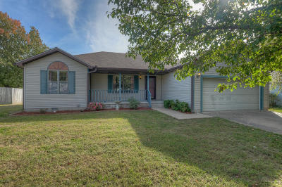 Jasper County Single Family Home For Sale: 1027 Meadow View
