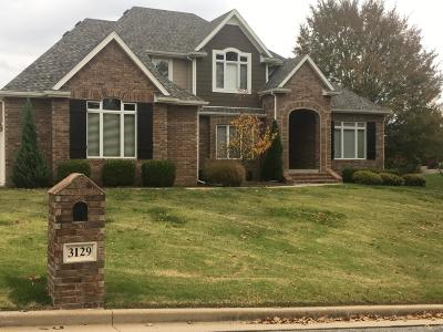 Jasper County Single Family Home For Sale: 3129 Abigail Street