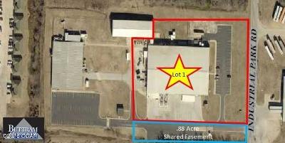 Barry County, Barton County, Dade County, Greene County, Jasper County, Lawrence County, McDonald County, Newton County, Stone County Commercial For Sale: 3220 Industrial Rd Lot 1