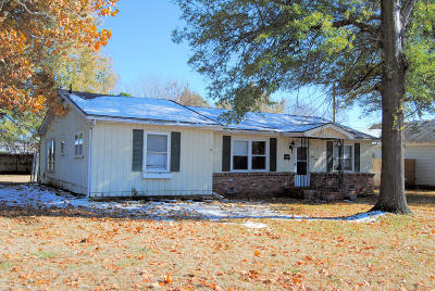 Barry County, Barton County, Dade County, Greene County, Jasper County, Lawrence County, McDonald County, Newton County, Stone County Single Family Home For Sale: 715 S Highland Avenue