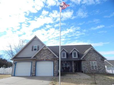 Jasper County Single Family Home For Sale: 1824 Glenwood Drive