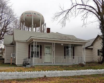Jasper County Single Family Home For Sale: 415 S Tom Street