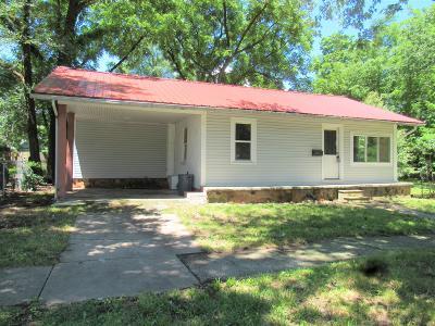 Jasper County Single Family Home For Sale: 1320 Missouri Avenue