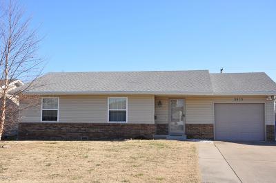 Joplin MO Single Family Home For Sale: $132,900