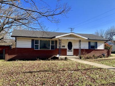 Joplin MO Single Family Home For Sale: $104,000